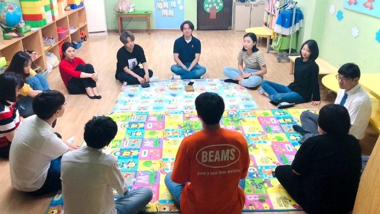 청년부 주일 모임 대표 기도