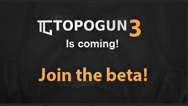 TopoGun 3 오픈 β 버전 무료배포