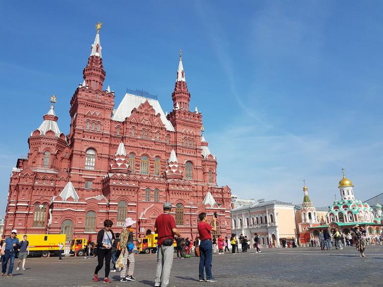 모스크바 붉은 광장 주변에서 한나절 보내기