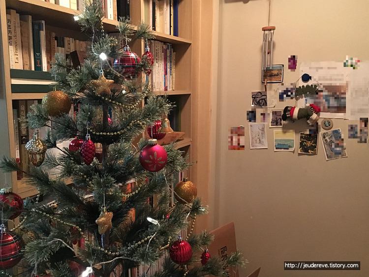 크리스마스 실내 장식-트리, 양초꽂이, 마트로슈카