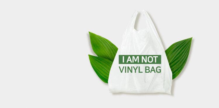 비닐봉투에는 '비닐(vinyl)'이 들어있지 않다!?