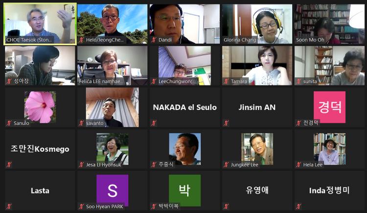 한국시: 이해인 - 3월에 - 에스페란토 번역