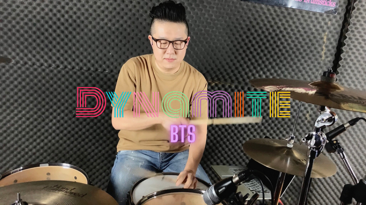 BTS(방탄소년단) - Dynamite Drum Cover by..