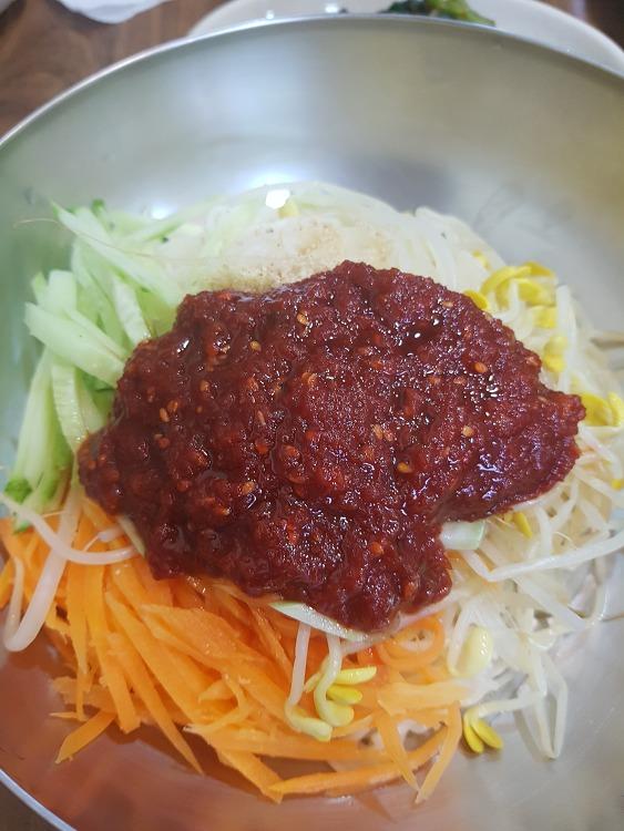 발산역 고향잔치국수-비빔국수