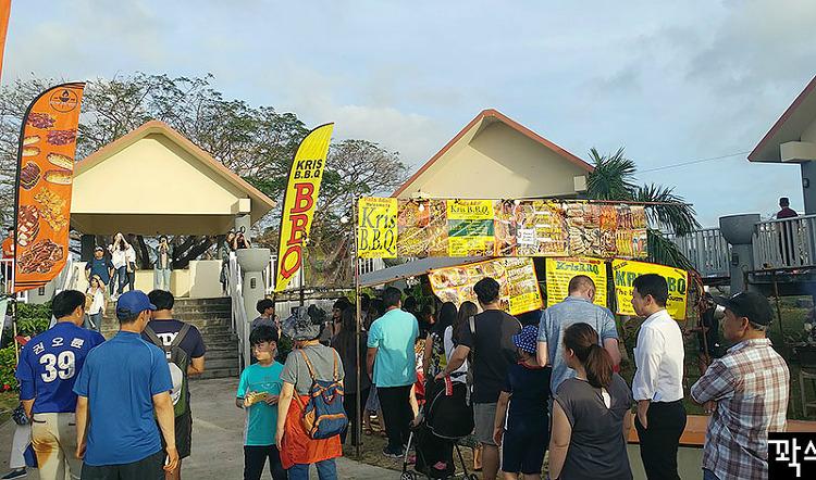 괌 여행 #6 괌 마을에서 수요일마다 열리는 차모르 야시장