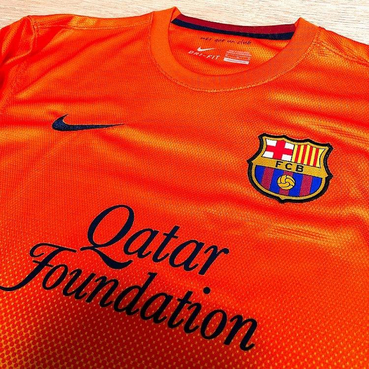 12-13 FC Barcelona Away Jersey (MESSI.10..