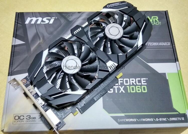 MSI 지포스 GTX1060 OC D5 3GB 윈드스톰 (..