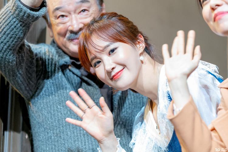 190622 연극 앙리할아버지와 나 curtain-call - 소녀시대 유리