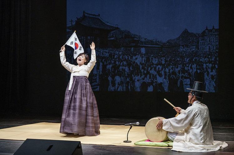 완창 판소리 - 김경아의 유관순 열사가 공연 실..