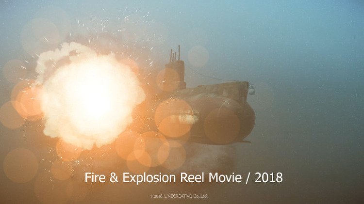 Fire & Explosion Reel Movie / 2018