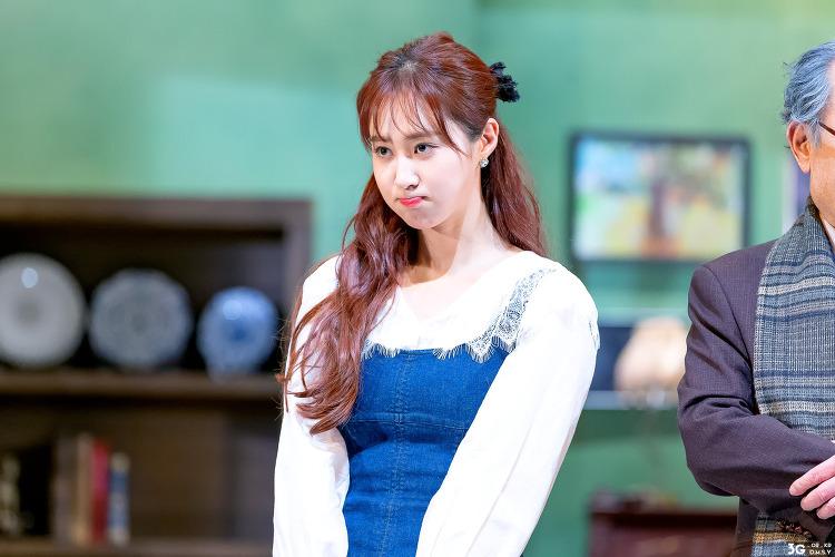 190511 연극 앙리할아버지와 나 curtain-call(저녁공연) - 소녀시대 유리