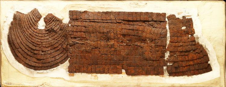 경주 쪽샘에서 출토된 1500년전 '행렬도 토기', 말갑옷의 비밀