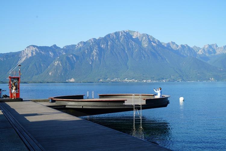 스위스 여행 몽트뢰 호반 산책로 풍경과 볼거리