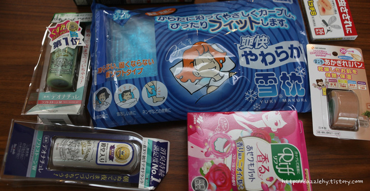 일본 여행 쇼핑 여름대비 사올만한 것들