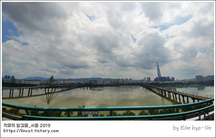 [적묘의 서울]강변 테크노마트 9층,하늘공원, 광나루, 한강전망대, 무료,전망대