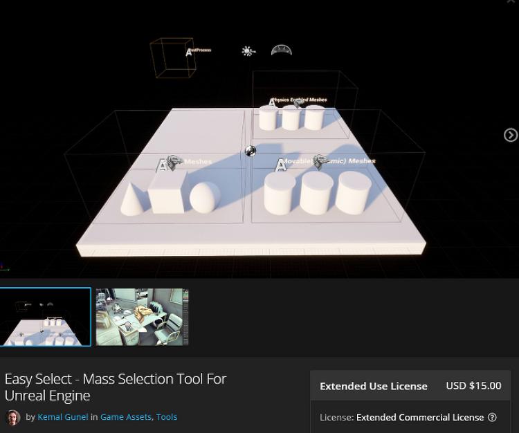 [Unreal plugin] Easy Select