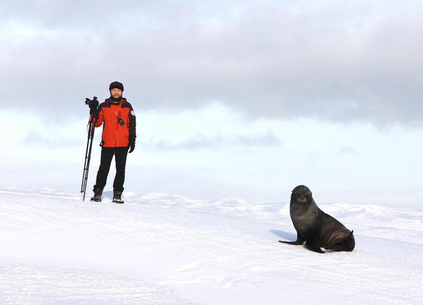was in Antarctica