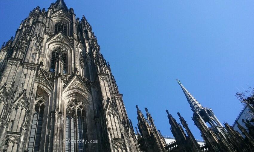 [독일] 600여년에 걸쳐 건축된 쾰른대성당(Col..