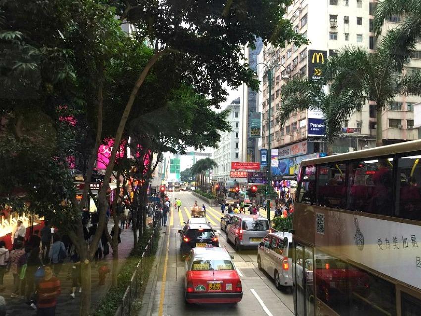 홍콩1 - 홍콩의 낮