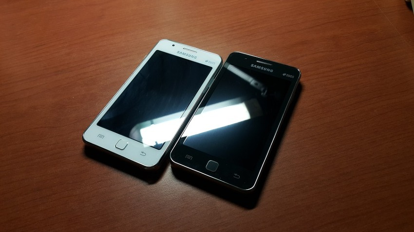 Samsung Z1 Black and White