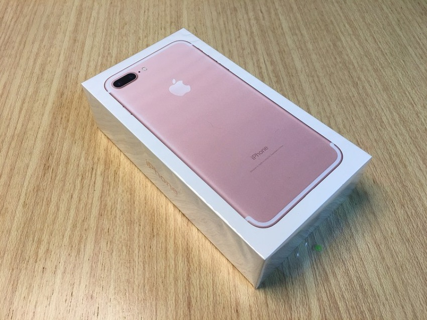아이폰 7+ 로즈골드 구입 및 개봉기