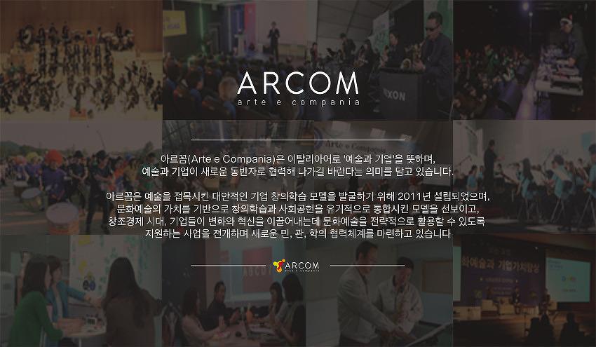 아르꼼 2013 주요 추진사업