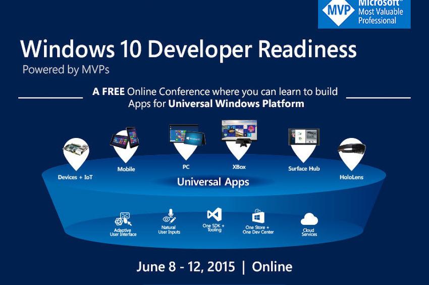 Windows 10 Developer Readiness 지금 등록하세요!