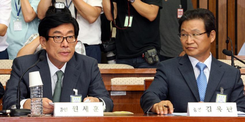 원세훈과 김용판의 비열한 선서거부