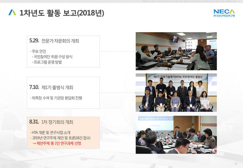 [2019. 6. 14.] 의료기술평가 국민참여단 3차 정기회의 개최