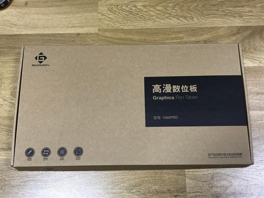 [GAOMON] 대륙의 실수 Graphics Pen Tablet 1060PRO 개봉&사용기