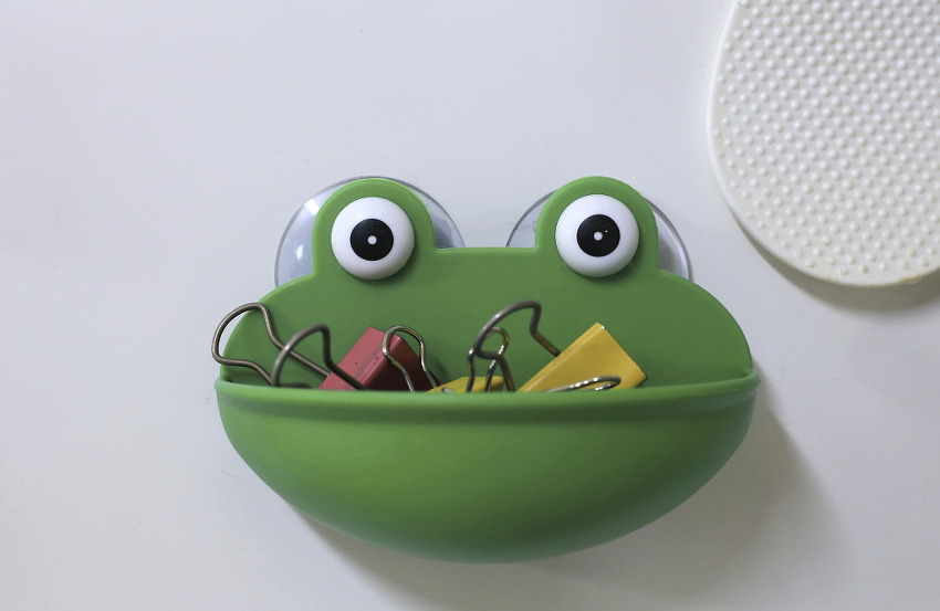 수세미통 개구리/20181230