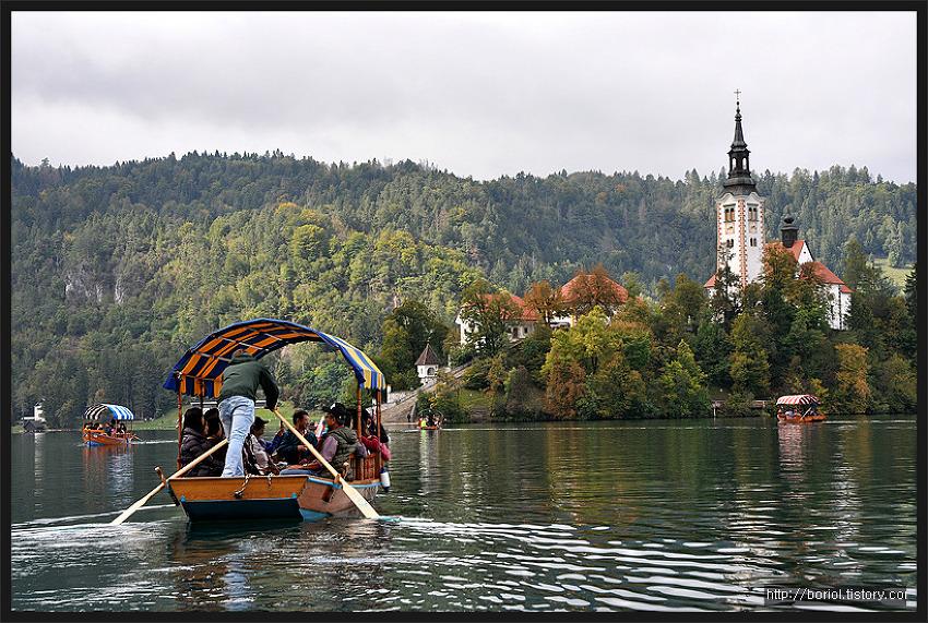 [슬로베니아] 블레드 호수 ②