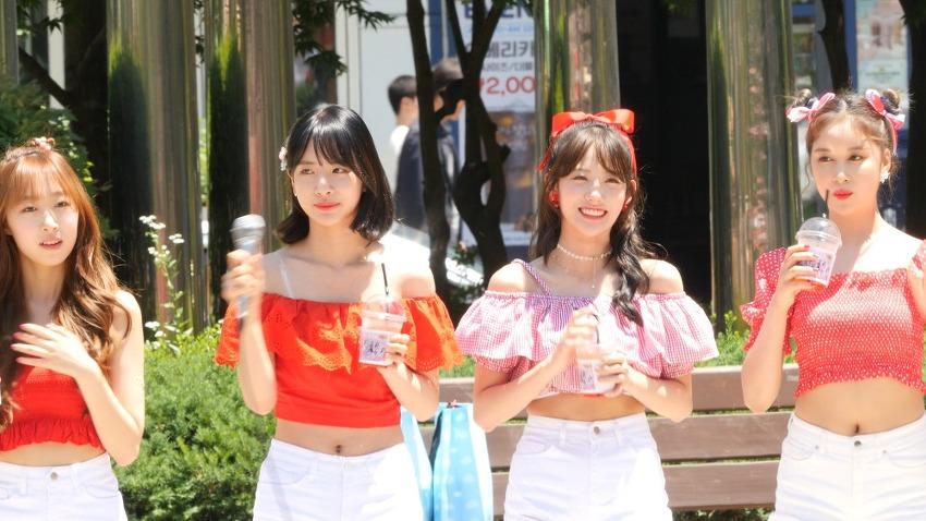 190622 음악중심 우주소녀 미니팬미팅 4K 직캠..