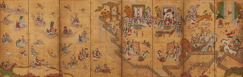 '19세기 조선은 요지경~' 서왕모의 생일잔치는 왜 조선에서 회자됐을까-이화여대 특별전