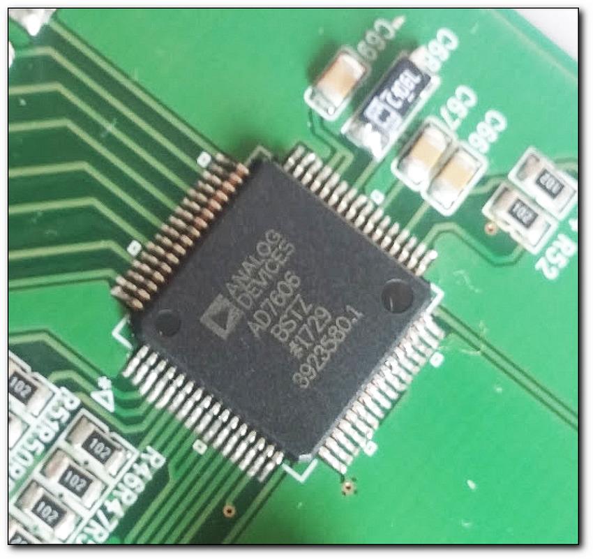Analog Devices 16Bit ADC AD7606 테스트