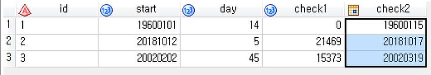 [SAS] SAS 숫자 날짜 변환 input, put, format 이용방법
