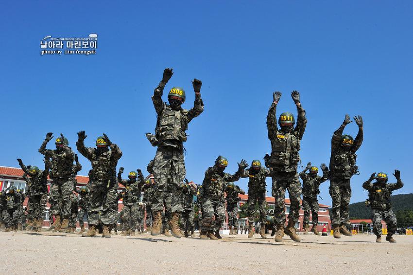 신병 1256기 3교육대 2주차 - 전투체력