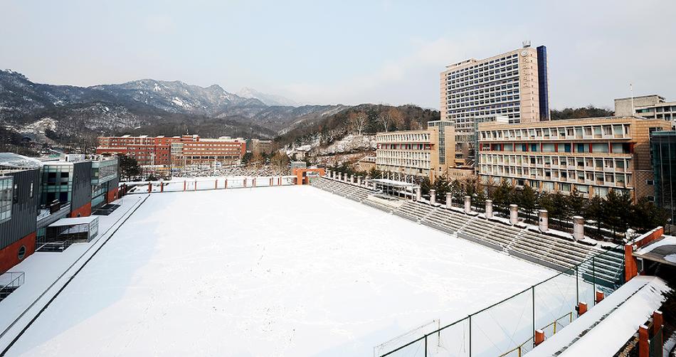 2017국민대겨울풍경
