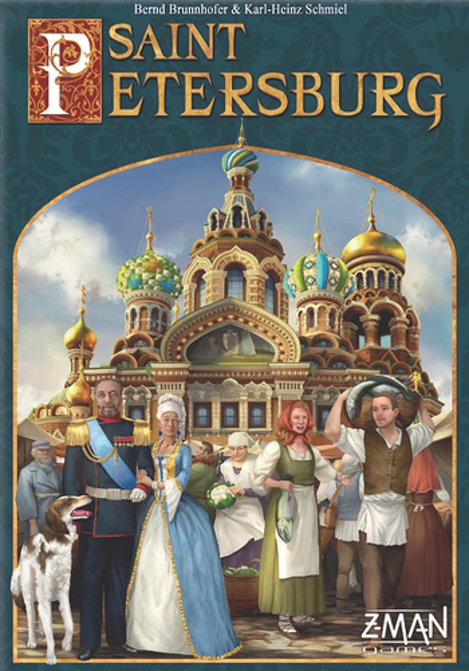 Z-Man Games - Saint Petersburg 2nd Edition