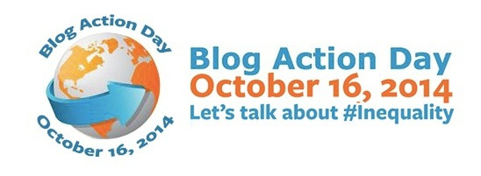 Blog Action Day 16 October 2014 Inequality