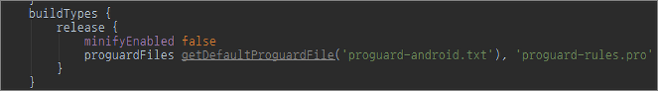 [Android] After Android Studio update: Gradle DSL method not found: 'runProguard()'