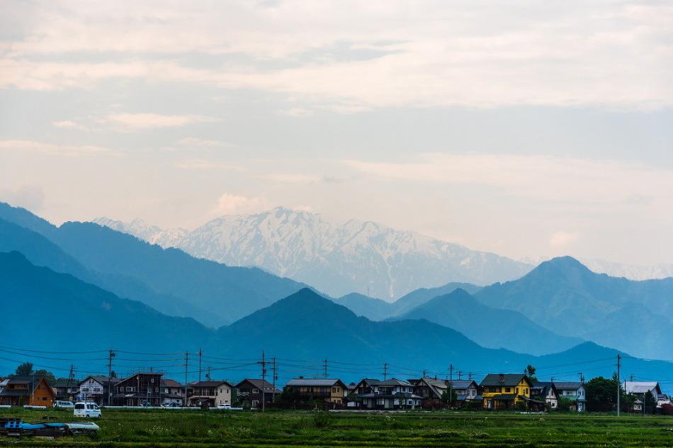 일본 알프스산맥에 있는  북알프스 전망미술관을 가보았습니다.
