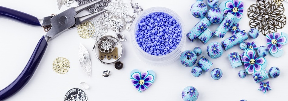 꽃 비즈 반지 만들기