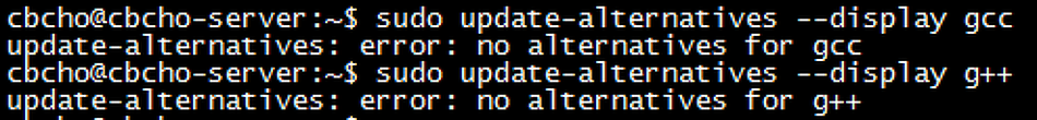 [Ubuntu]gcc, g++ 다른 버전 추가 및 패키지 관리