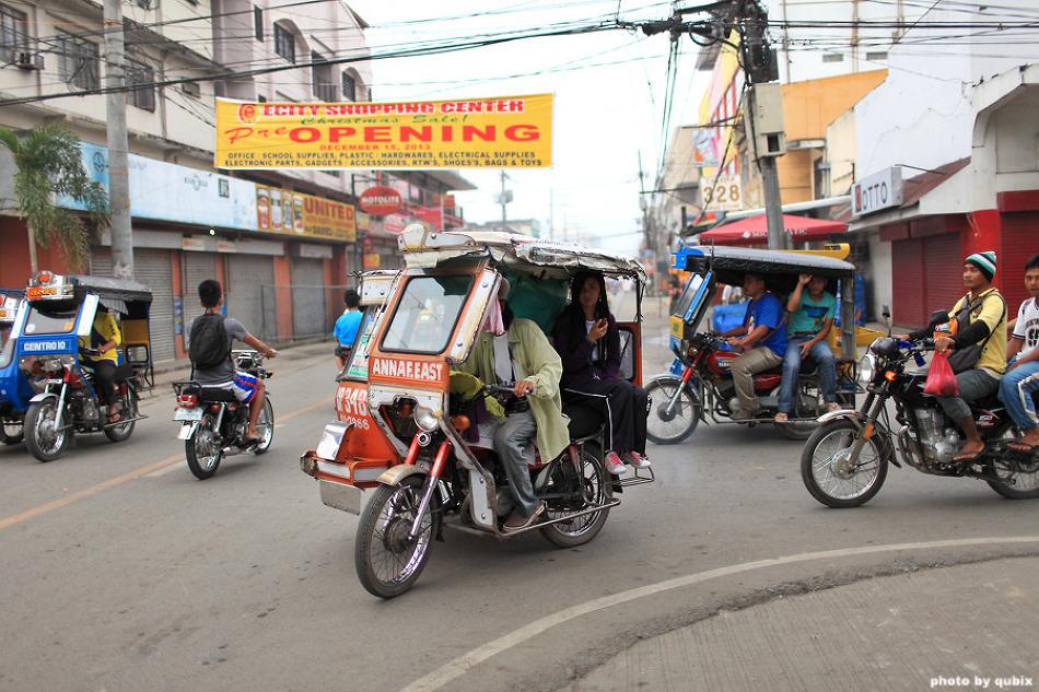 [필리핀 루손섬 북부 여행] 뚜게가라오의 명물 트라이시클