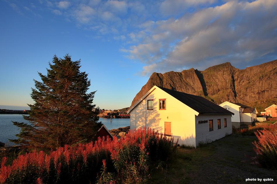[노르웨이 로포텐제도 여행] 레이네 주변의 아침 풍경
