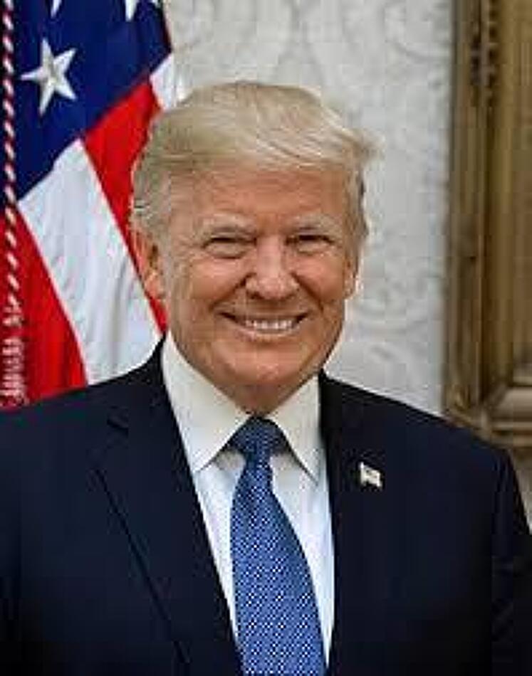 미국의 진정한 리더 트럼프 - 조찬 기도회 영상
